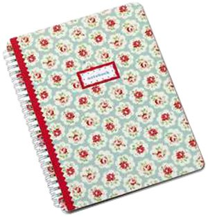 9781849491372: Cath Kidston Blue Spray Notebook