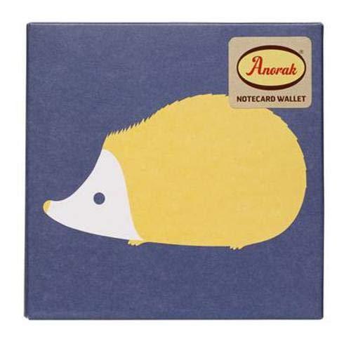 9781849494465: Anorak Kissing Hedgehogs Notecard Set