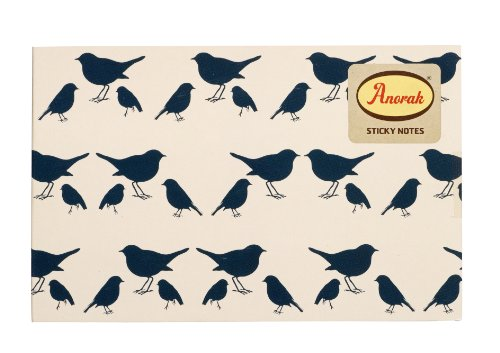 9781849494496: Anorak: Bird Sticky Notes and Jotter Pad