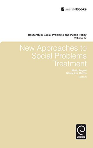 9781849507363: New Approaches to Social Problems Treatment (Research in Social Problems and Public Policy)