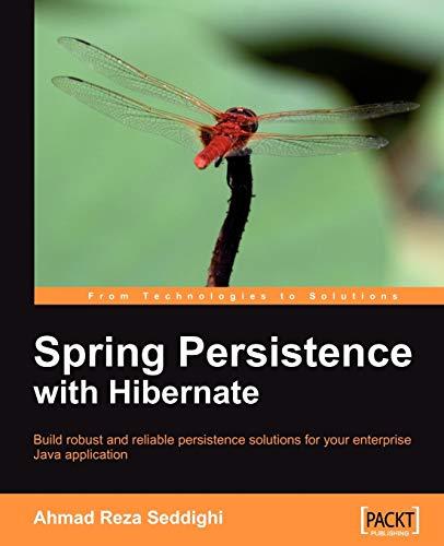 9781849510561: Spring Persistence with Hibernate