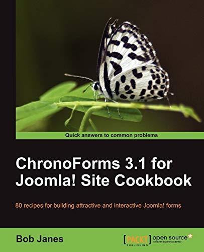 9781849510622: ChronoForms 3.1 for Joomla! Site Cookbook