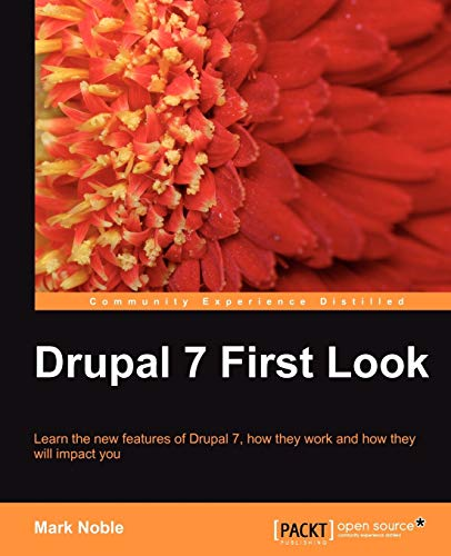 9781849511223: Drupal 7 First Look