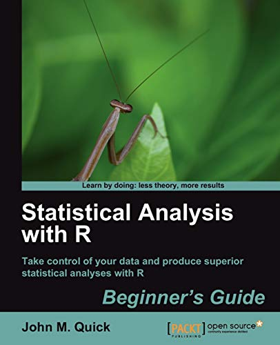 9781849512084: Statistical Analysis with R