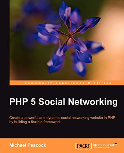 9781849512381: PHP 5 Social Networking