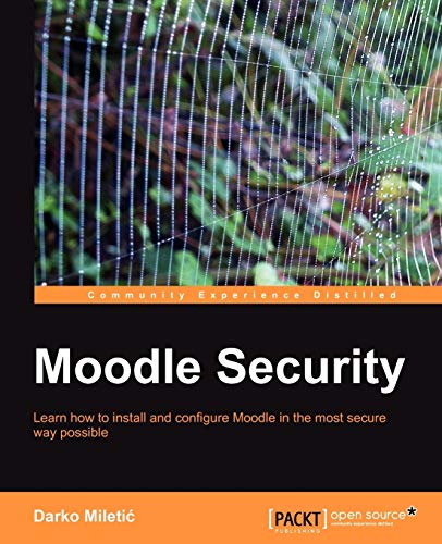 9781849512640: Moodle Security