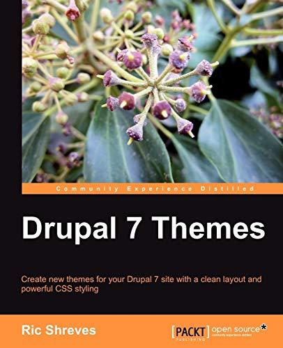 9781849512763: Drupal 7 Themes
