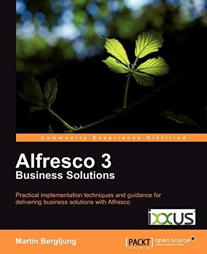 9781849513340: Alfresco 3 Business Solutions