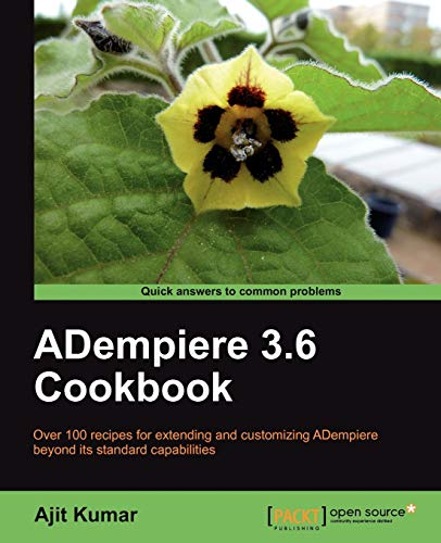 9781849513388: Adempiere 3.6 Cookbook