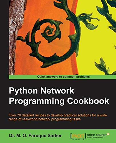 9781849513463: Python Network Programming Cookbook