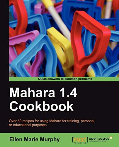 9781849515061: Mahara 1.4 Cookbook