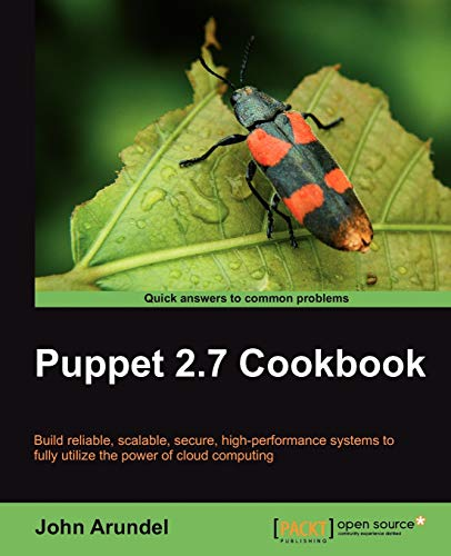 9781849515382: Puppet 2.7 Cookbook