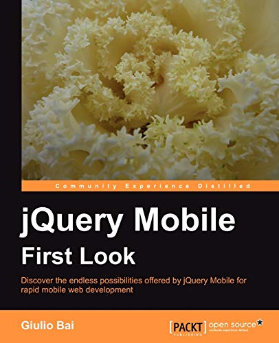 9781849515900: jQuery Mobile First Look