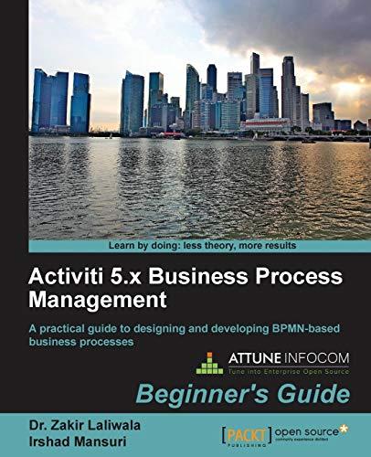 9781849517065: Activiti 5.x Business Process Management, Beginner's Guide
