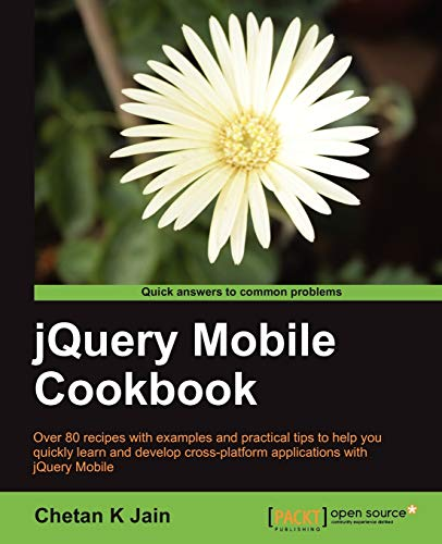 9781849517225: jQuery Mobile Cookbook