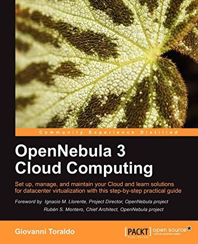 9781849517461: OpenNebula 3 Cloud Computing