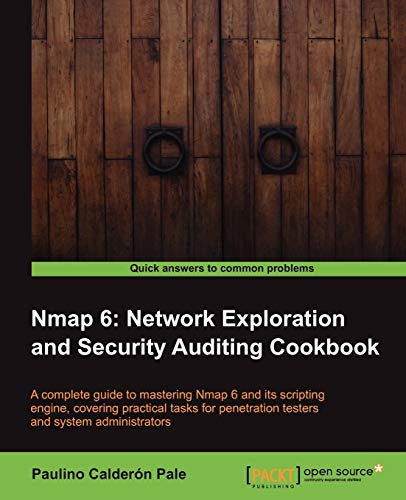 9781849517485: Nmap 6: Network exploration and security auditing Cookbook