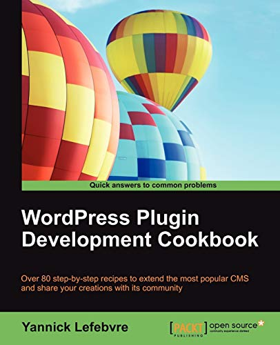 9781849517683: Wordpress Plugin Development Cookbook