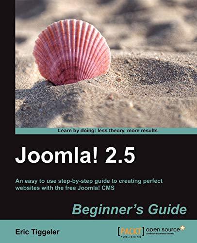 9781849517904: Joomla! 2.5 Beginner's Guide