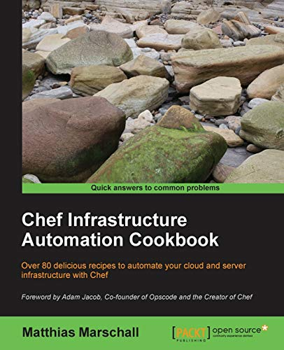 9781849519229: Chef Infrastructure Automation Cookbook