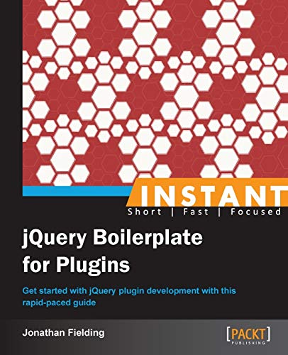 9781849519700: Instant jQuery Boilerplate for Plugins