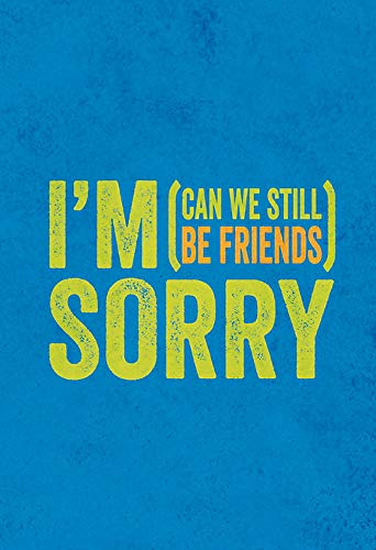 I'm Sorry (Can We Still be Friends?) (Gift Book): Summersdale