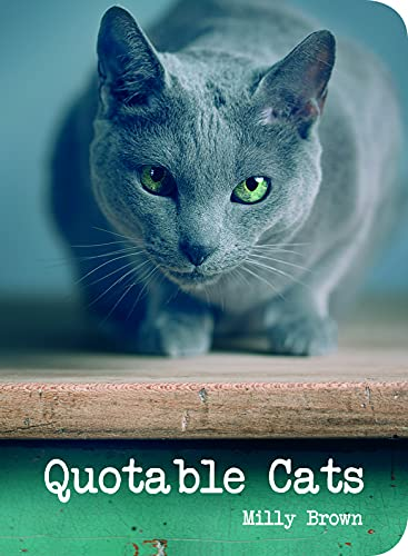 9781849536172: Quotable Cats