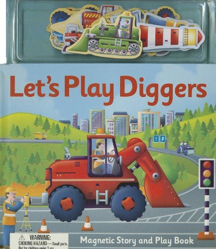 Let's Play Diggers [With Magnet(s)]: Clover, Alfie