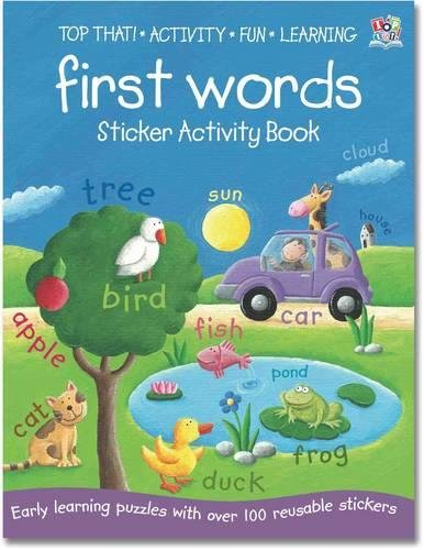 Early Learning Sticker Activity Book - First Words (Sticker Activity Books): Oakley Graham
