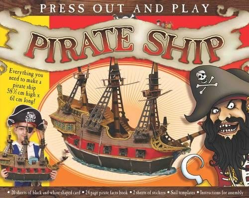 9781849565370: Press Out and Play Pirate Ship
