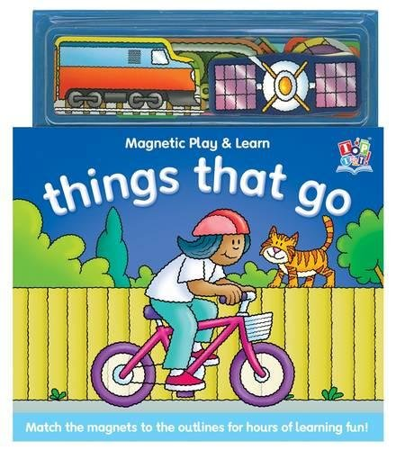 9781849566063: Things That Go (Magnetic Play and Learn)