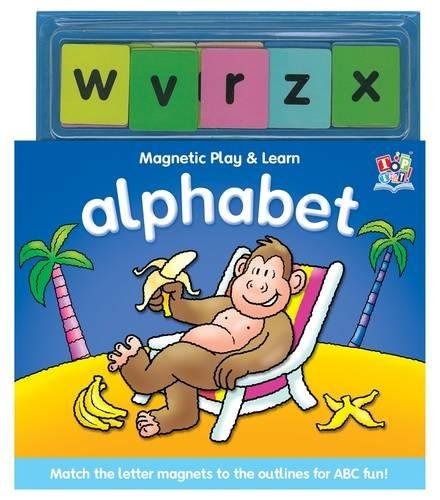 9781849566179: Alphabet (Magnetic Play and Learn)