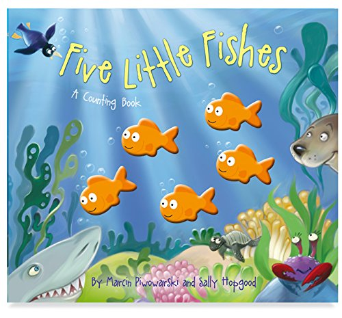9781849566599: Five Little Fishes (Five Little Counting Books)