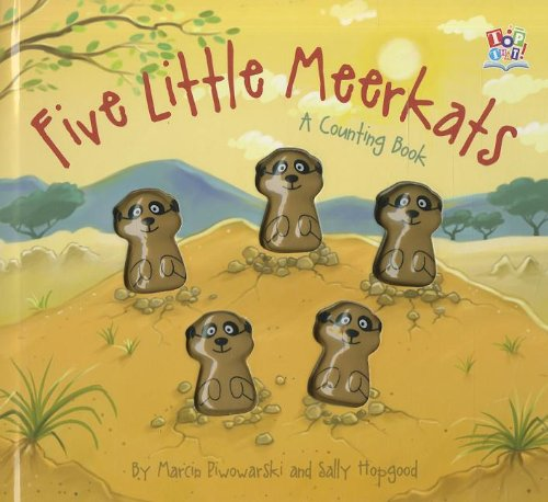 9781849566605: 5 Little Meerkats (Five Little Counting Books)