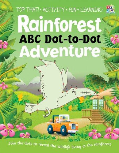 9781849567121: Dot to Dot Activity Book - Rainforest