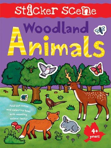 STICKER SCENE: WOODLAND ANIMALS: N/A