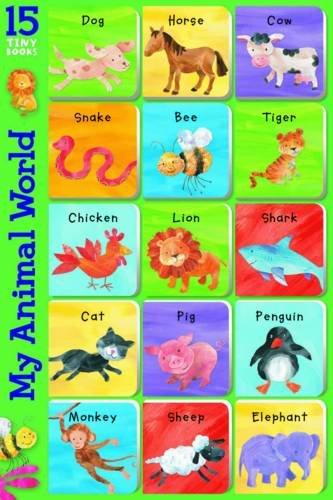 9781849584159: My Animal World (15 Tiny Books)