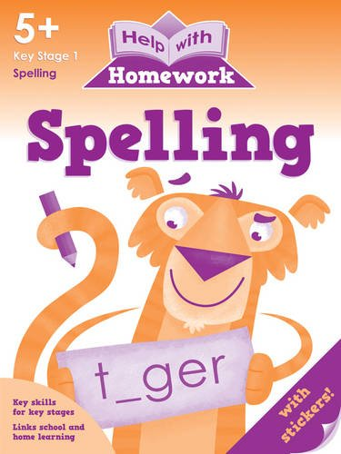 9781849584364: Spelling 5+ (Help with Homework)