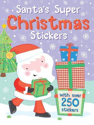 SANTAS SUPER CHRISTMAS STICKERS: Maria Constant