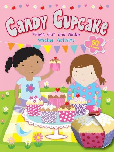 Candy Cupcake Press Out and Make Sticker Activity: Dereen Taylor