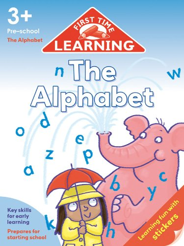 9781849586276: First Time Learning - The Alphabet