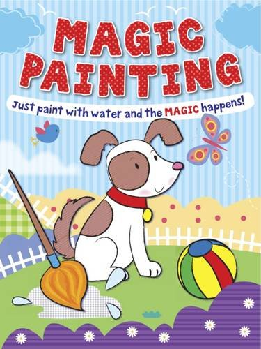 9781849588164: Magic Painting Puppy: Just Paint with Water and the Magic Happens!