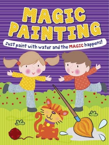 9781849588232: Magic Painting Boy & Girl: Just Paint with Water and the Magic Happens!