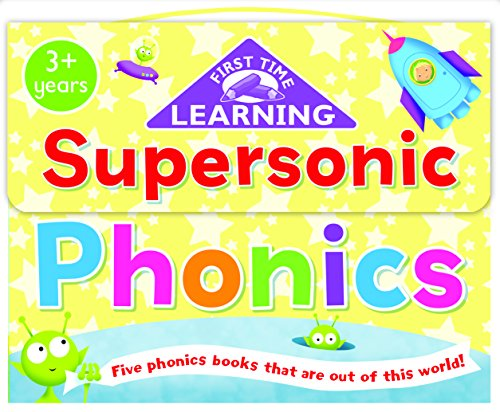 9781849588423: First Time Learning - Carry Case: Supersonic Phonics