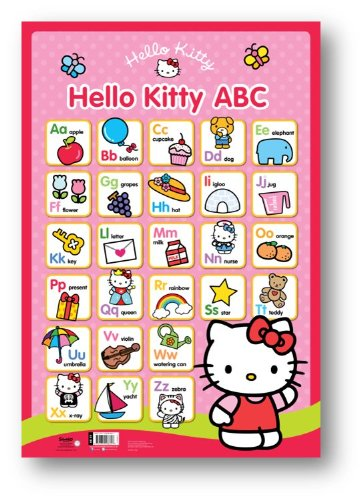 9781849588607: Hello Kitty Wall Chart: ABC