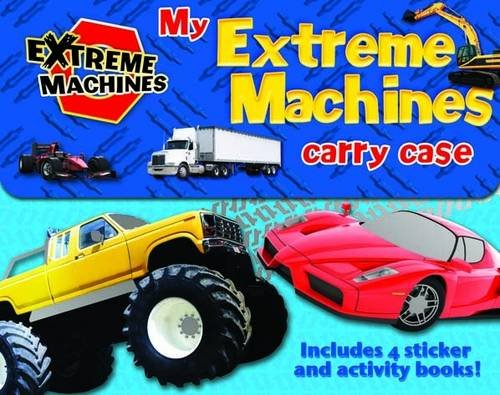 My Extreme Machines Carry Case: Includes 4 Sticker Activity Books
