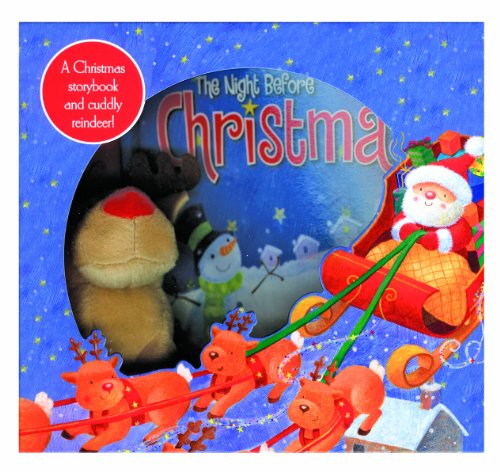 9781849589482: Night Before Christmas: Box Set with Book and Plush Toy (Christmas Gift Box)