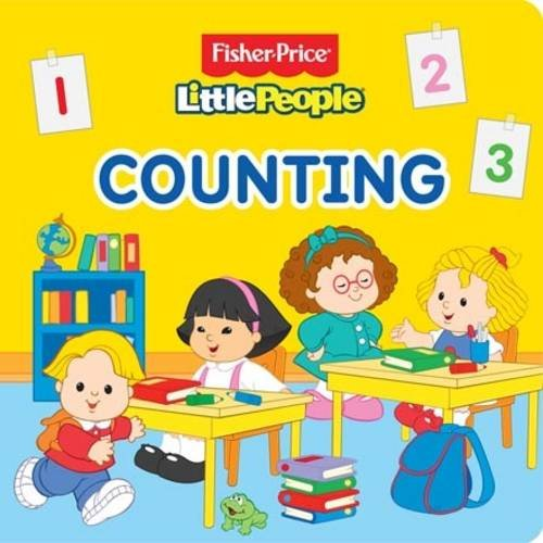 9781849589611: Fisher Price Little People - Counting (Fisher Price Board Books)