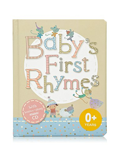 9781849607230: Baby's First Rhymes Book - With bounce along music CD