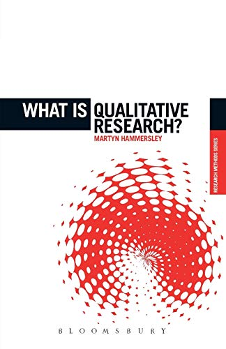9781849666060: What is Qualitative Research? (The 'What is?' Research Methods Series)